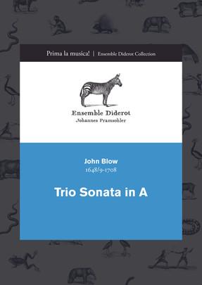 EDC006 Blow Trio Sonata in A