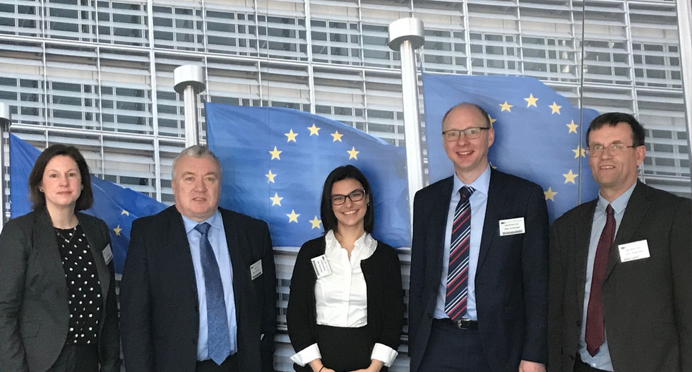 University of Bath IAAPS automotive research institute delegation visit to Brussels