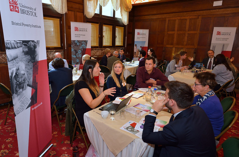 Speed networking with University of Bristol's 7 Specialist Research Institutes