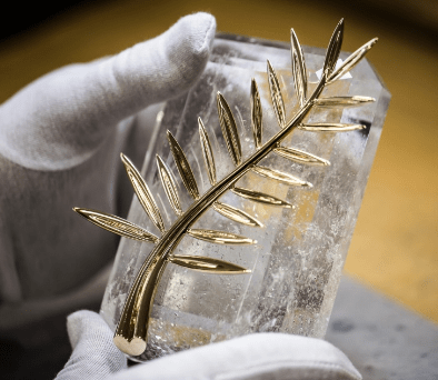 "©The ethical ""Palme d'Or"" guarantee from the label Fairmined. """