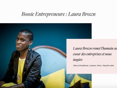 Laura Brown puts people back in business and inspires us