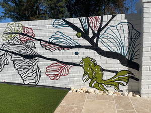 Residential Pool Mural