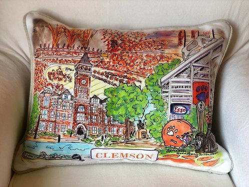 Clemson || 16x20 Pillow