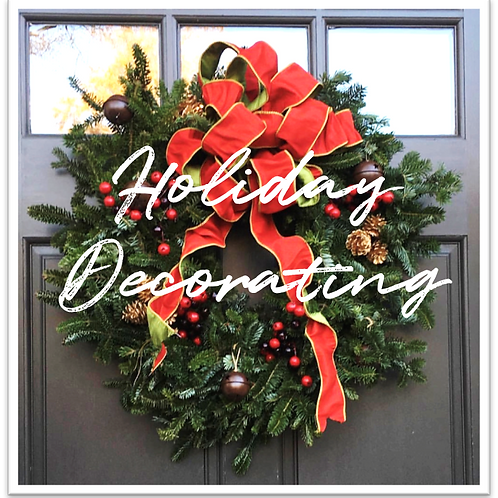 Holiday Home Decorating - Consultation