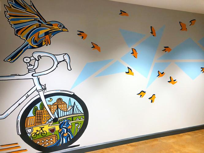 Urban Wren Interior Hallway