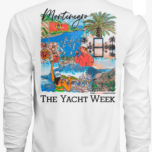 The Yacht Week - Montenegro Long Sleeve Dri-Fit