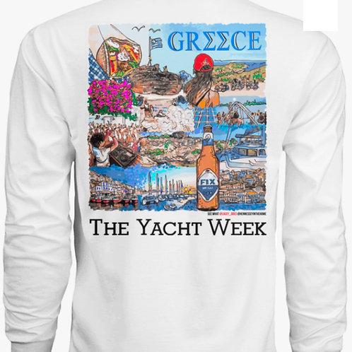 The Yacht Week - Greece Long Sleeve Dri-Fit