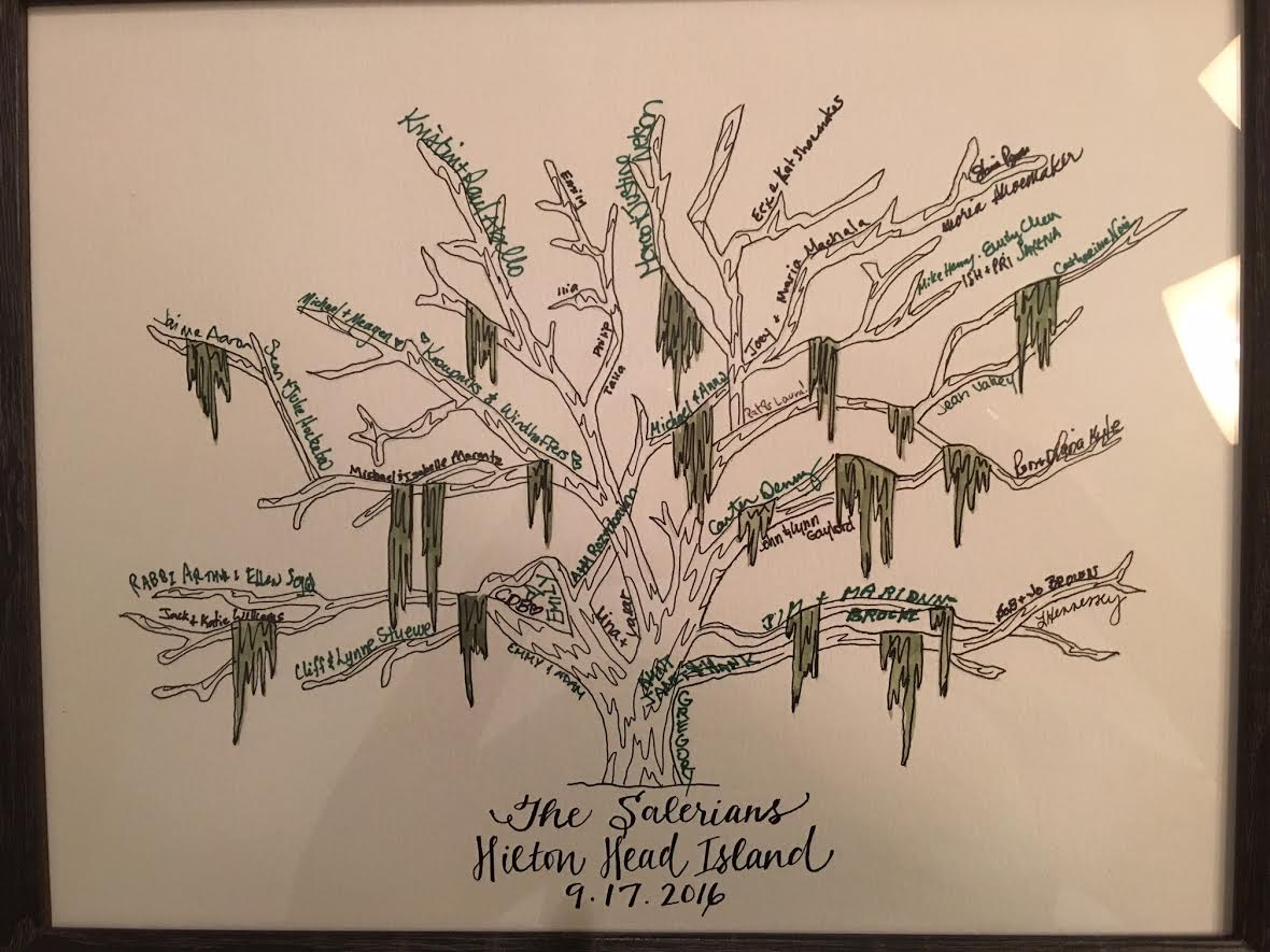 Pen and Ink Tree