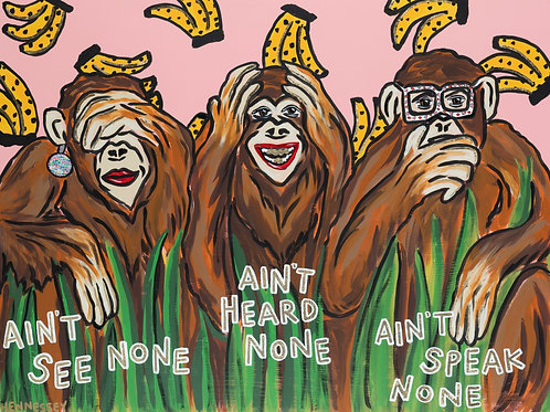 MONKEY BUSINESS - LIMITED EDITION PRINT