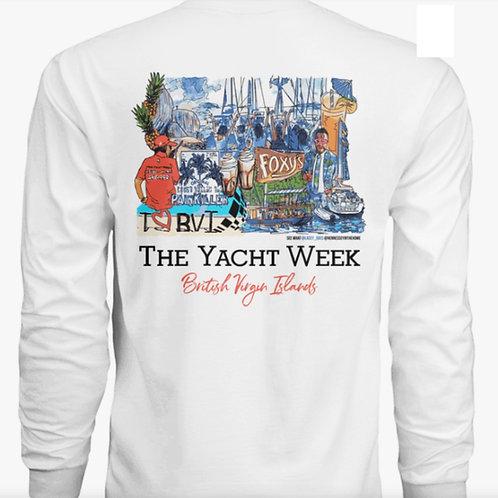 The Yacht Week - BVI Long Sleeve Dri-Fit