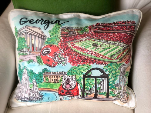UGA || 16x20 Pillow