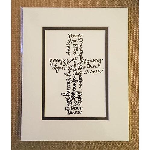 Family Cross - Custom Gift