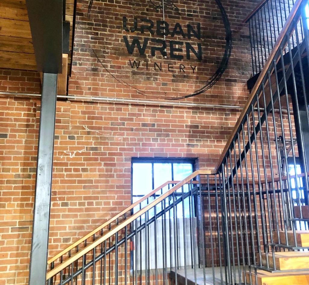 Urban Wren Winery - Hand Painted LogoC7C.JPG