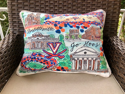UVA || 16x20 Pillow