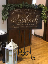 Wedding Signage - Greenville, SC
