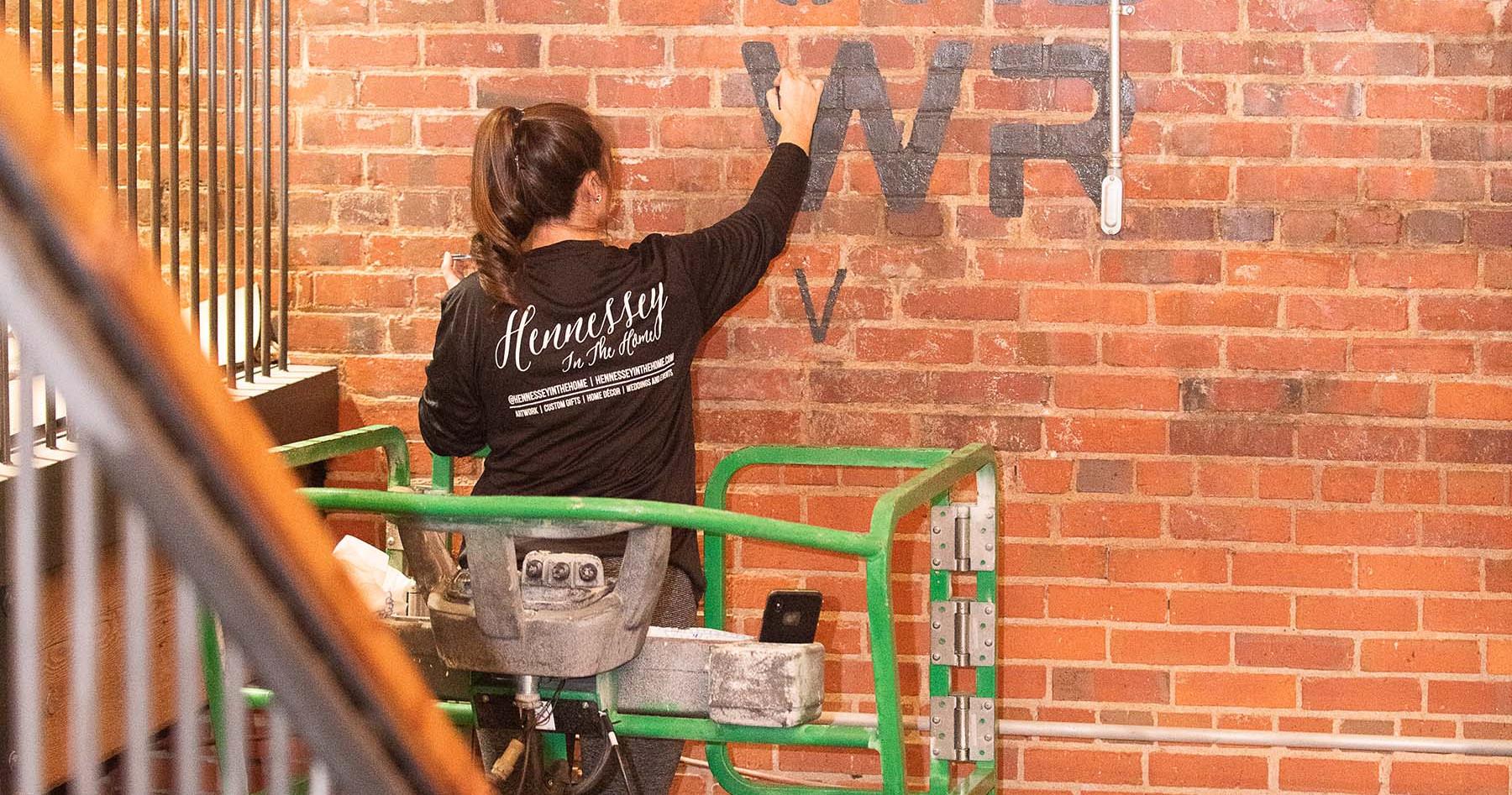 Urban Wren Winery - Hand Painted Logo