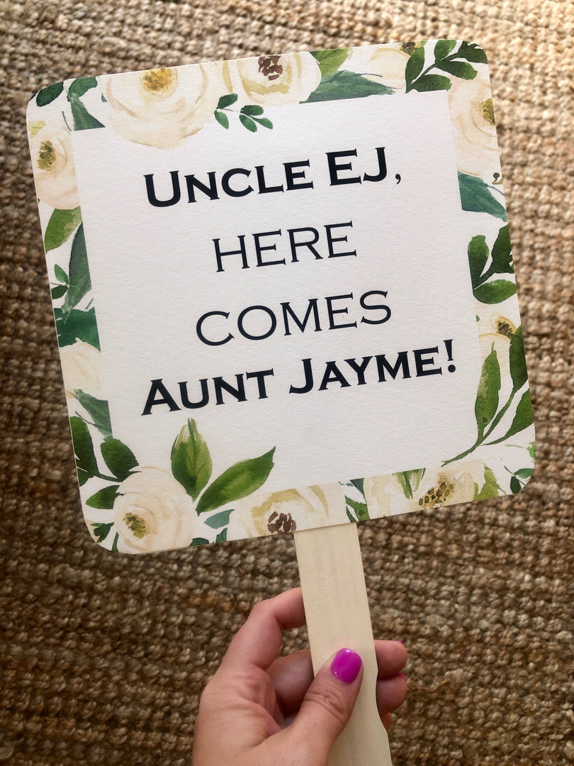 Nephew Sign