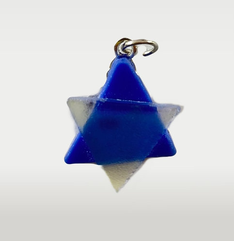 Blue and Clear Star