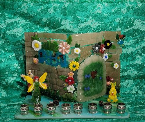 Fairy Garden Menorah