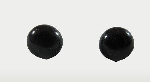 Black Glossy Earrings