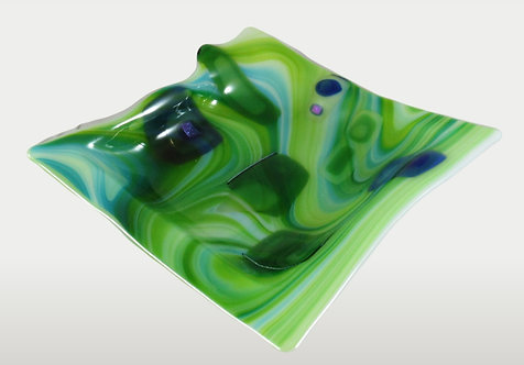 Waves of Green Dish