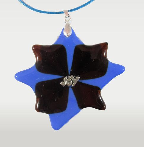 Purple and Light Blue Joy Star