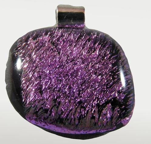 Purple DIchroic Pendant