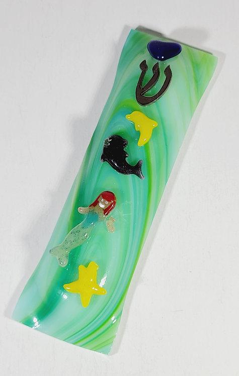 Mermaid of the Sea Mezuzah