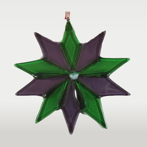 Green and Purple Star
