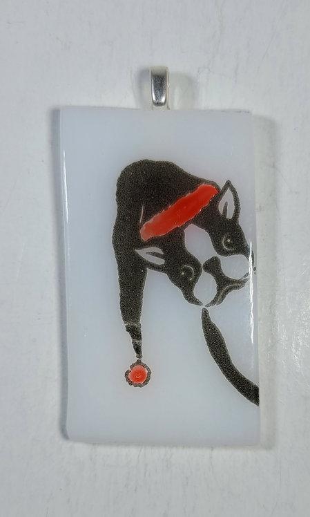 Doggy Christmas Pendant