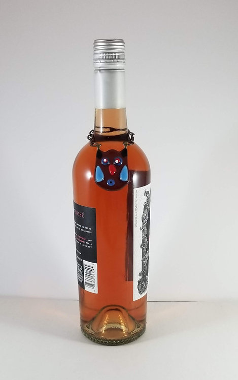 Owl Wine Bottle Critter