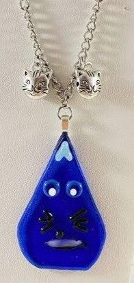 Funky Kitty Cat Necklace