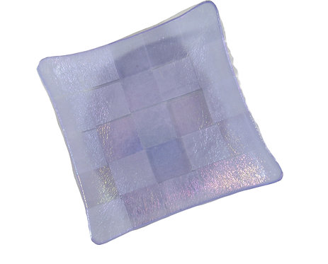 Iridescent Lavender Candy Dish