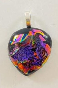 Many Dichroic Colors Pendant