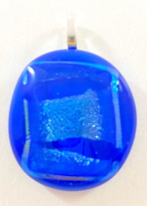 Wow Blue Dichroic Pendant