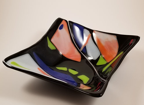 Colorful Square Bowl