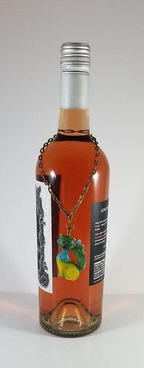 Cat Wine Bottle Critter