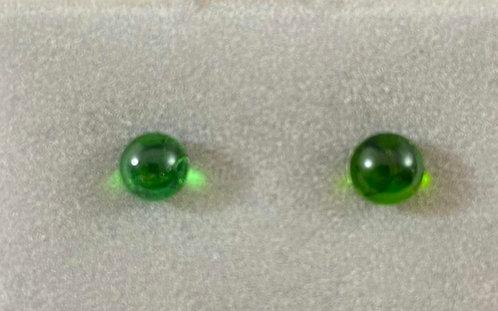 Green Shiny Earrings
