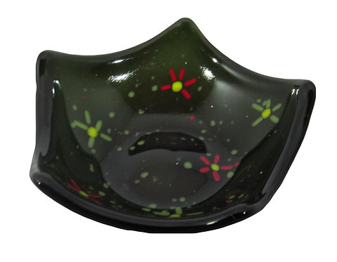 Speckled Black Candy Dish