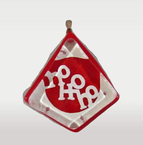 Ho Ho Ho Christmas Pendant