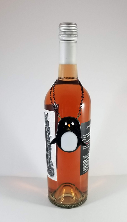 Penguin Wine Bottle Critter