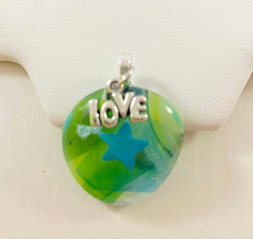 Greens Love Pendant