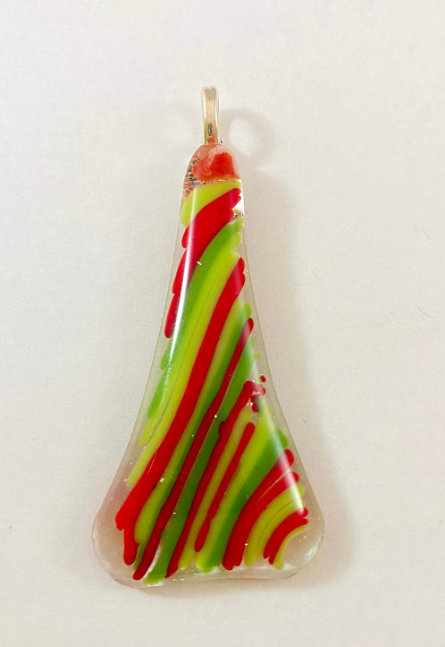 Red, Green and Yellow Pendant