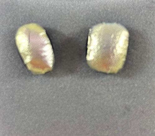 Silver Dichro Earrings