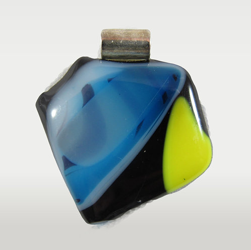 Patches of Yellow and Blue Pendant