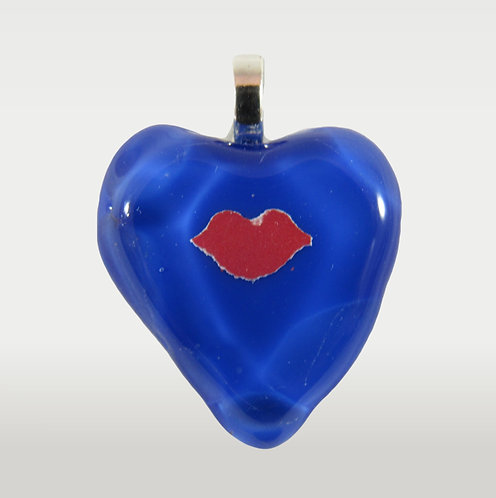 Lips and Heart Pendant