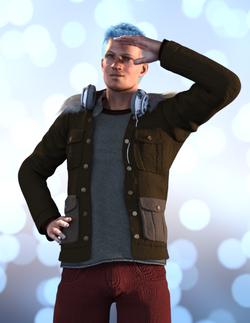 Nick with Coat