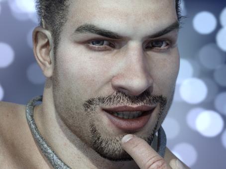 Gay Super Hero Face revision #2