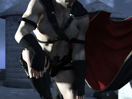 Gay Super Hero development #2