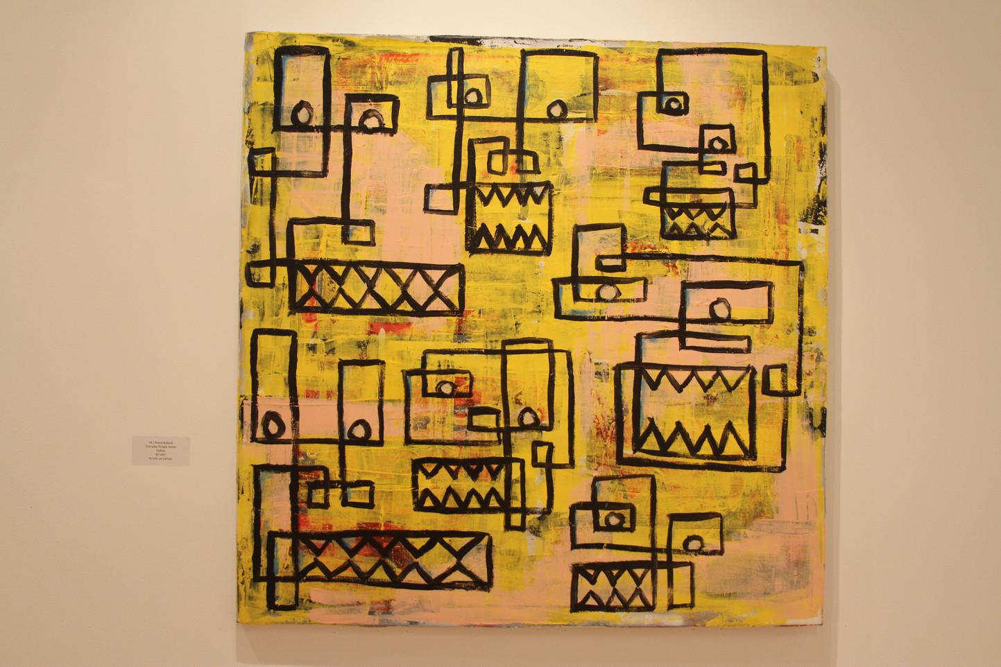 Artist Shane Bullock (19)